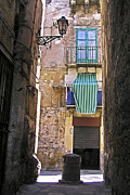 Antik Prints - Little street in the old citycenter - PALERMO - SICILY Print by Silva Wischeropp