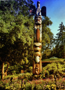 Murals Originals - Little Totem by Lawrence Christopher