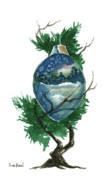 Ornament Originals - LIttle Tree 95 by Sean Seal
