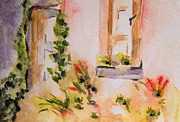 Villa Paintings - Little Villa by Lynne Furrer
