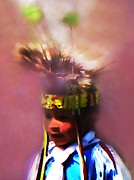 Pow Wow Posters - Little Warrior Poster by Terril Heilman