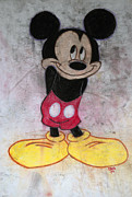 Disney Pastels - Little Yellow Shoes by Thomas Luca