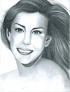 Lord Drawings - Liv Tyler by Crystal Rosene