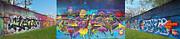 Anne Cameron Cutri - Live Graffiti Triptych
