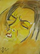 Live Pastels Originals - Live In Pain by Alireza Mobtaker