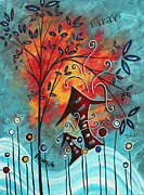 Licensor Prints - Live Life II by MADART Print by Megan Duncanson