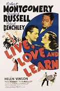 Montgomery Prints - Live, Love And Learn, Robert Print by Everett