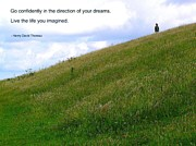 Affirmation Photos - Live the Life You Imagined by Jen White