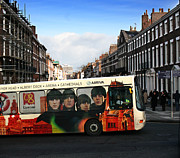 Ringo Starr Metal Prints - Liverpool bus for 2008 Metal Print by Ken Biggs