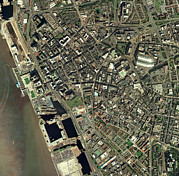 Port Town Art - Liverpool, Uk, Aerial Image by Getmapping Plc