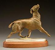 Canine Sculptures - Lives to Please by Joy Beckner