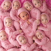 Living Doll Print by Anne Geddes