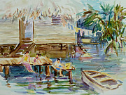 Rural Living Originals - Living on the Water by Xueling Zou