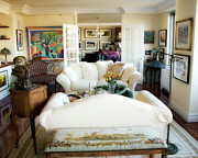Living Room Iv Print by Madeline Ellis