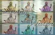 Terry Wallace Digital Art Posters - Living Water 2 Poster by Terry Wallace