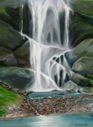 Living Waters Paintings - Living Waters by Shirley Galbrecht