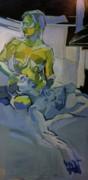 Liz N' Brian Pieta Print by Piotr Antonow