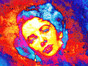 Unique Art Prints - Liz Taylor Print by Juan Jose Espinoza