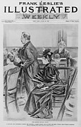 Accused Photos - Lizzie Borden, On Trial For The Ax by Everett
