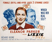 1957 Movies Photo Prints - Lizzie, Eleanor Parker, 1957 Print by Everett