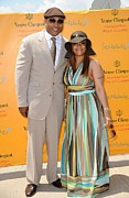 Governor Island Prints - Ll Cool J In Attendance For Veuve Print by Everett
