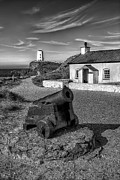 Pilot Digital Art Framed Prints - Llanddwyn Cannon v2 Framed Print by Adrian Evans