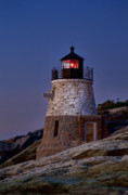New England Lighthouse Prints - Llighthouse Print by John Greim