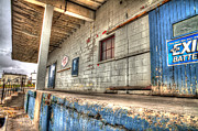 Aluminum Framed Prints Prints - Loading Dock Print by John Herzog