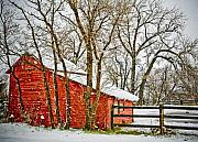 Countryscape Originals - Loafing Shed by Marilyn Hunt