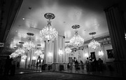 Chandeliers Prints - Lobby Paris Las Vegas Print by Jessica Velasco