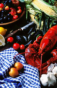 Lobster Framed Prints - Lobster Framed Print by Garry Gay
