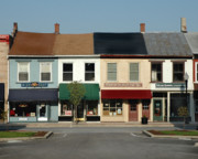 Store Fronts Prints - Local Color Print by Tamie and Tony Riffell