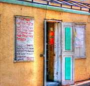 St Thomas Prints - Local Store Print by Debbi Granruth