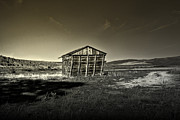Shed Acrylic Prints - Locally Grown Acrylic Print by Mark  Ross