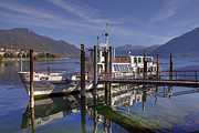 Lake Tapestries Textiles - Locarno Lake Maggiore by Joana Kruse