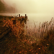 Brave Photos - Loch Ard early mist  by John Farnan