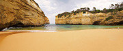 Loch Ard Gorge Beach Print by Visual Clarity Photography