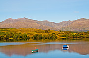 Autumn Colours Photos - Loch Awe by Chris Thaxter