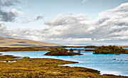 Rannoch Photo Prints - Loch Ba View Print by Chris Thaxter