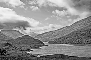 Glen Coe Prints - Loch Levan Print by Chris Thaxter