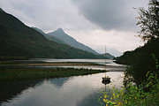 Lake View Photos - Loch Leven Scotland by Jasna Buncic