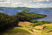 Fault Framed Prints - Loch lomond from Conic Hill Framed Print by John McKinlay