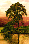 Gloaming Framed Prints - Loch Lomond Gloaming Framed Print by Rianna Stackhouse