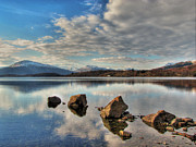 Giclée Fine Art Framed Prints - Loch Lomond Framed Print by Paul and Fe Photography Messenger