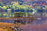 Wester Ross Prints - Loch Maree in Autumn Print by John McKinlay
