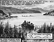 Witness Prints - Loch Ness Monster, 1934 Print by Granger