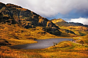 D300 Prints - Loch Restil. Rest and Be Thankful. Scotland Print by Jenny Rainbow