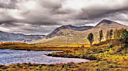 Moorland Framed Prints - Lochan na Stainge Framed Print by Chris Thaxter