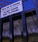 Engineering Originals - Lock and Chains by Peter  McIntosh