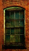 Window Bars Prints - Locked Away Print by RC DeWinter